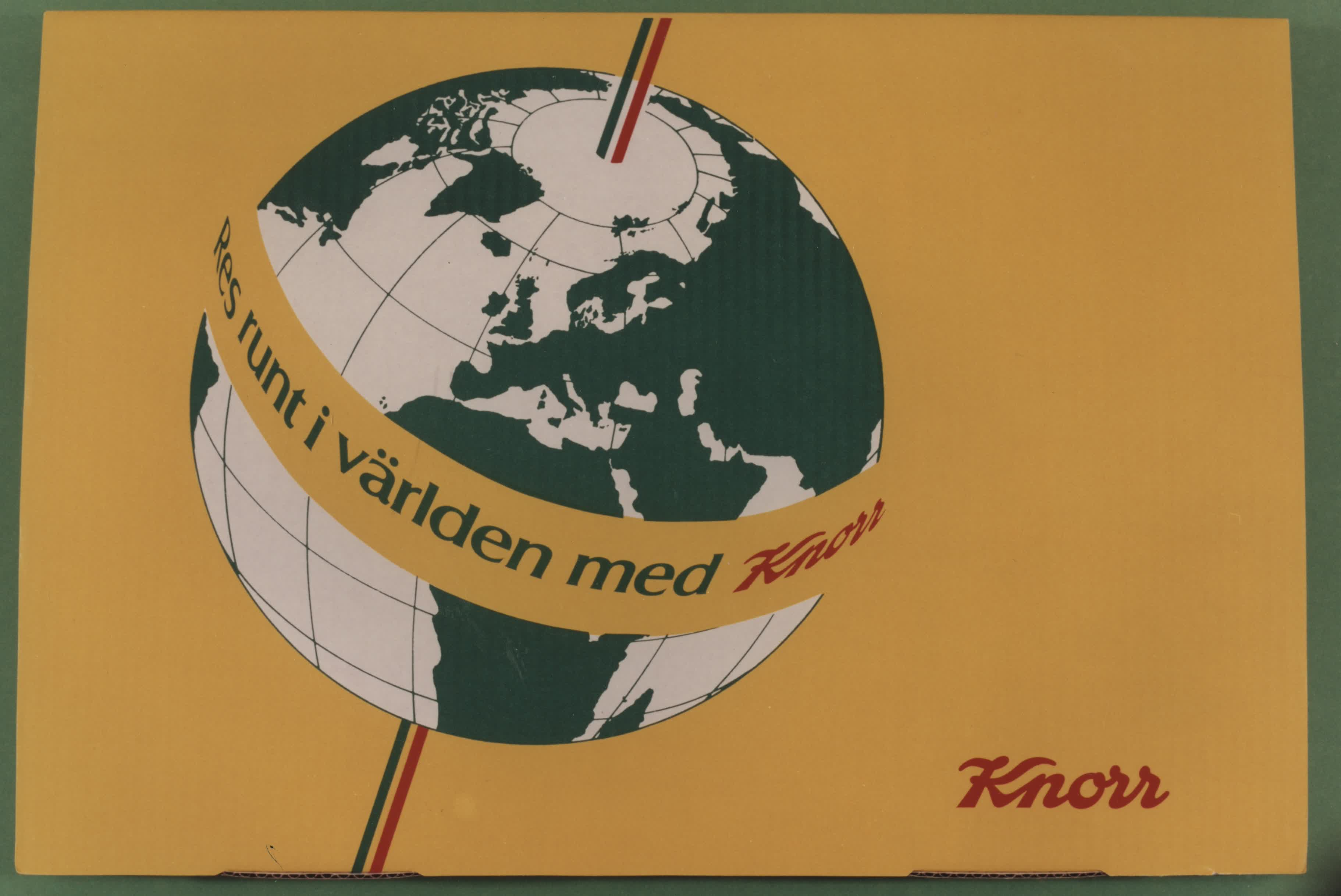 Promotionmaterial, Knorr.
